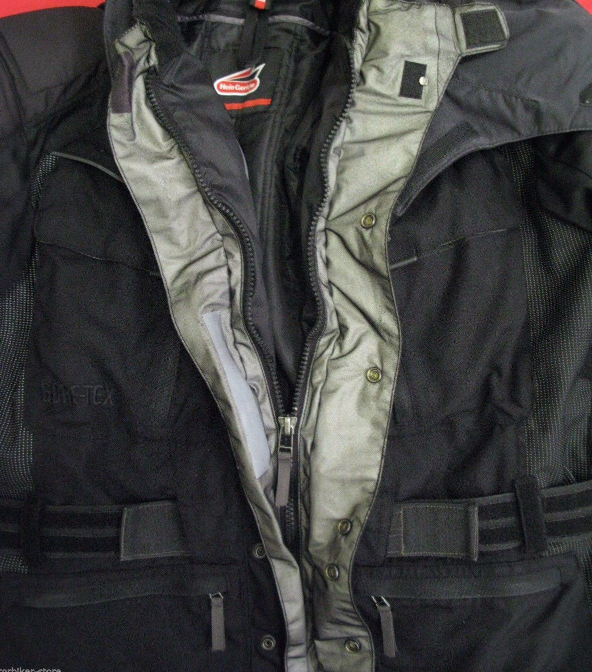"Gore Tex Motorcycle Jacket ... GERICKE CRUISE GORETEX CORDURA MOTORCYCLE JACKET UK 44"" Chest EU 54 XL"